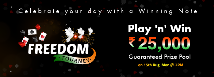 Gorummy announces Freedom Tourney – Join & Win Rs. 25000