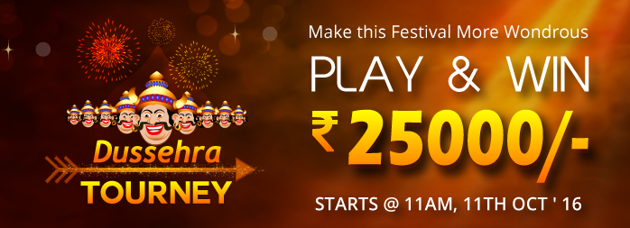 Dussehra Delight: Play Rummy Tourney and Celebrate the Festival with 25K