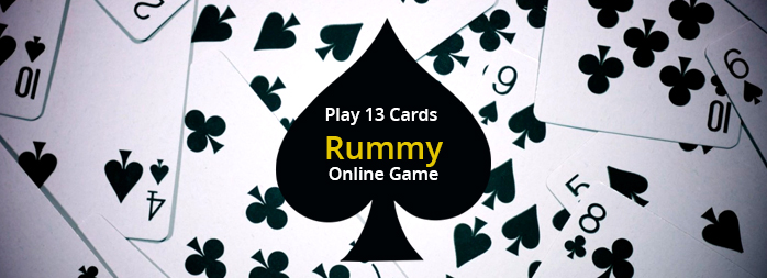 13 cards rummy online Game