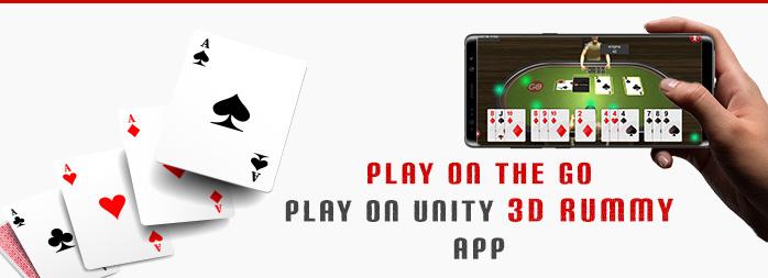 Play on the Go – Play on Unity 3D Rummy App